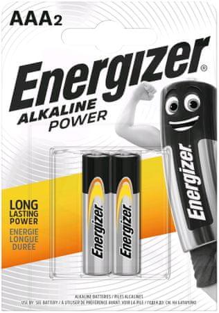 Energizer Energizáló alkáli teljesítmény AAA / 2 LR03 / 2
