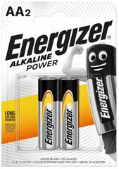 Energizer Alkaline Power AA / 2 LR6 / 2