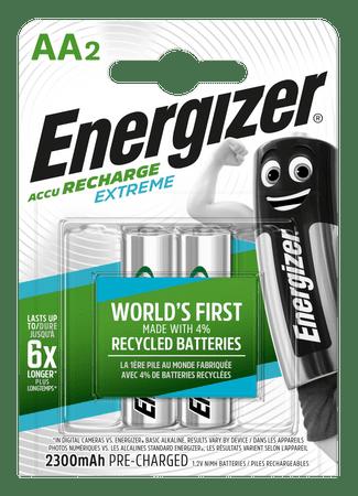 Energizer újratölthető elemek Extreme ceruza AA HR6 FSB2 2300 mAh