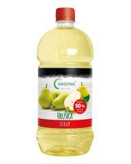 SAGENA Sirup s podielom min. 50% ovocia - Hruška 1L