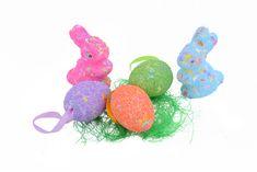 Emba Trade Velikonoční dekorace 5 ks FIALOVÁ