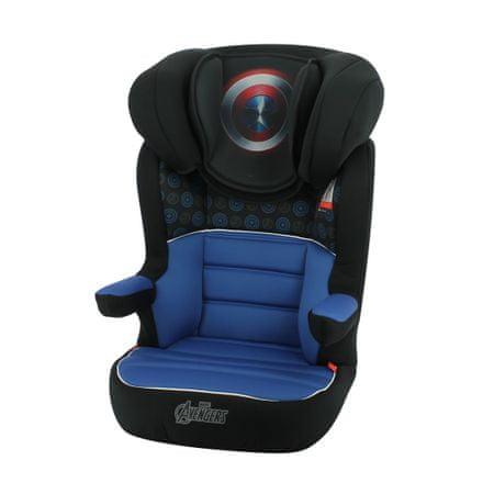 Nania R-way EasyFix Captain America LX otroški avtosedež 2020