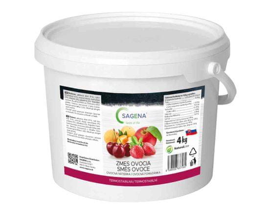 SAGENA Džem - ovocná nátierka zmes ovocia 4 kg