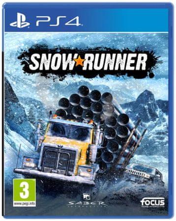 Focus Snowrunner igra (PS4)