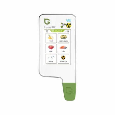 Greentest Greentest ECO 6 teszter Gyümölcsök, zöldségek, hús nitrátjai és sugárzása+TDS
