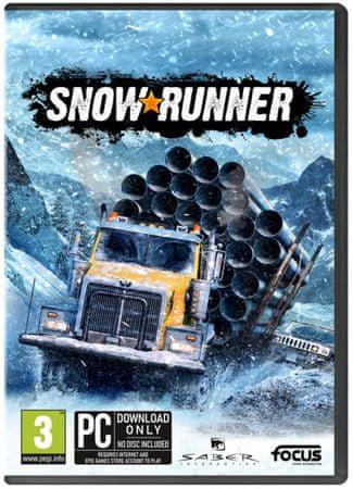 Focus Snowrunner igra (PC)
