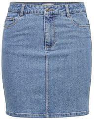 ONLY Dámska sukňa ONLAMAZE 15205842 Light Blue Denim