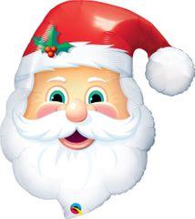 Fóliový balónik Santa Claus - Vianoce 81 cm