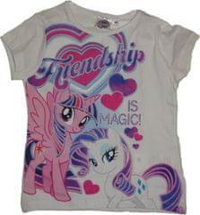 Disney Dívčí tričko My litte ponny bílé.
