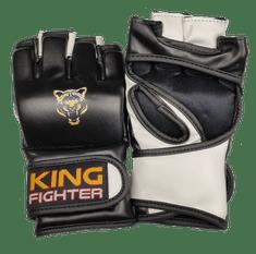 King Fighter MMA rukavice King Fighter GOLD tiger velikost: L