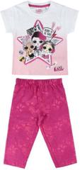 Cerda Dětské pyžamo L.O.L. Surprise Rock bavlna růžové Velikost: 104/111 (4-5 let)
