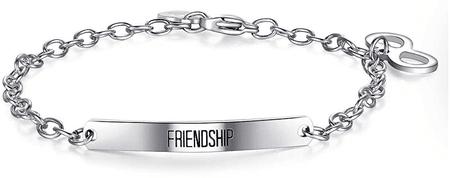 S'Agapõ Jeklena zapestnica Happy Friendship SHAF07