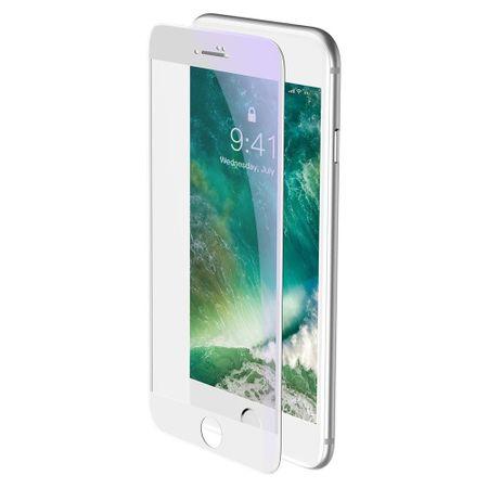 BASEUS Curved-screen Anti Blue üvegfólia iPhone 7 Plus/8 Plus, fehér
