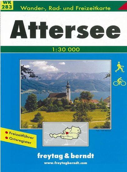 World Maps WK283 Attersee 1:50t turistická mapa FB