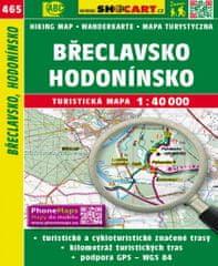 World Maps 465 Břeclavsko, Hodonínsko turistická mapa 1:40t SHOCart