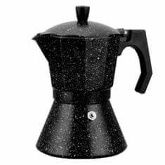 kamille Kávovar Espresso 300ml černý mramor