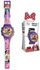 EUROSWAN Hodinky Minnie Mouse sportovní