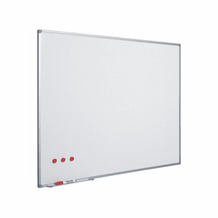 Piši-Briši stenska tabla, bela, AluFrame + začetni komplet, 90x180 cm