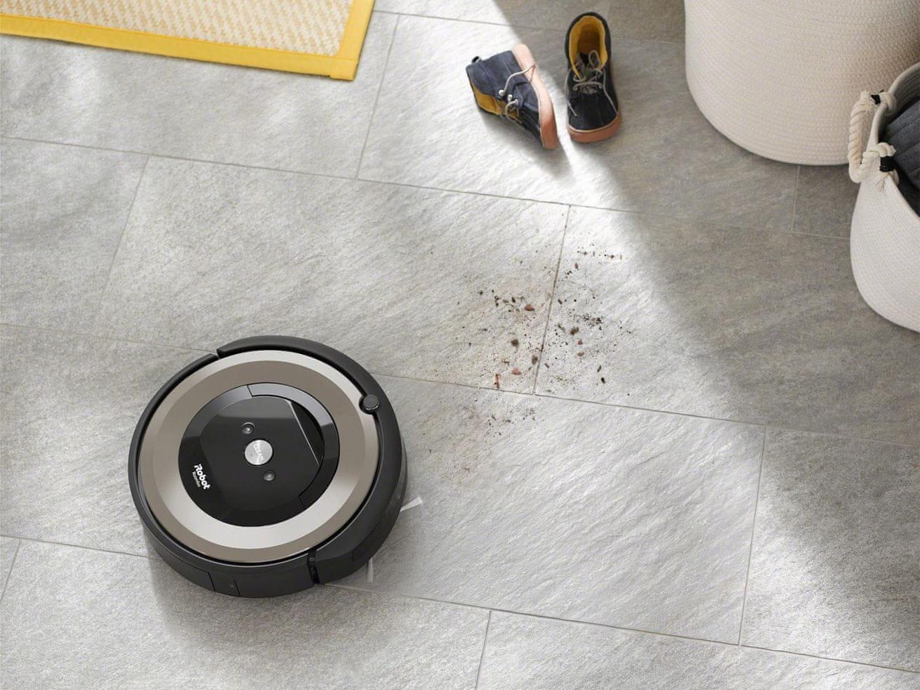 iRobot Roomba e6 program SPOT