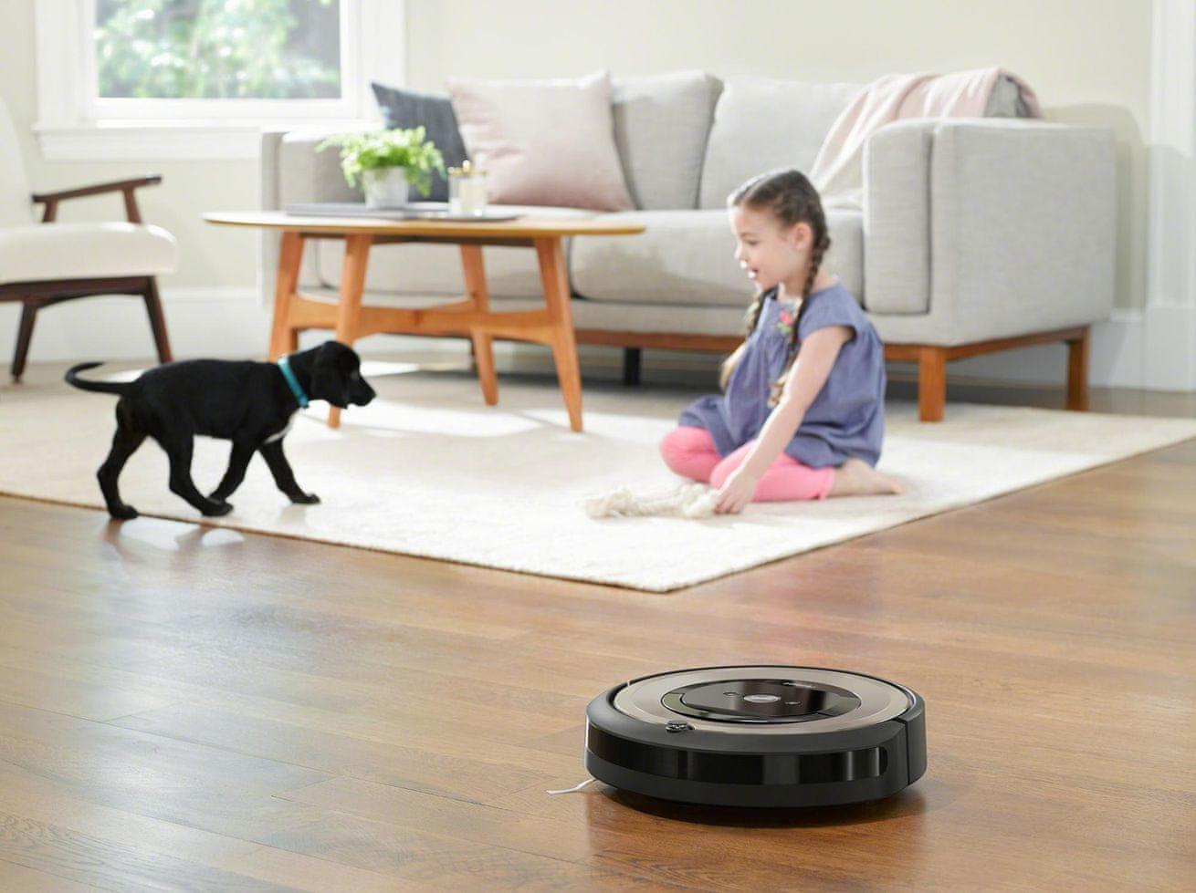 iRobot Roomba e6 funkce virtuální zdi