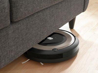robotický Vysavač iRobot Roomba e6 Navigace iAdapt precizní vyčištění podlahy