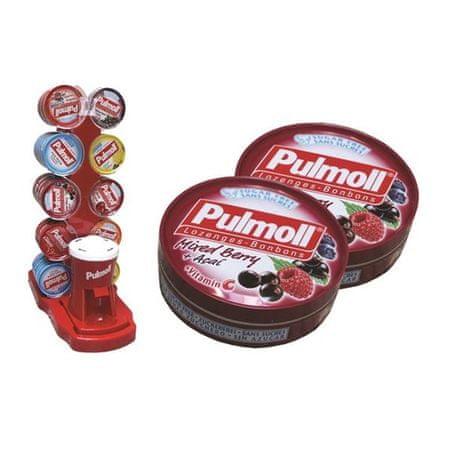 Pulmoll bonboni, gozdni sadeži + vitamin C, 10 x 45 g