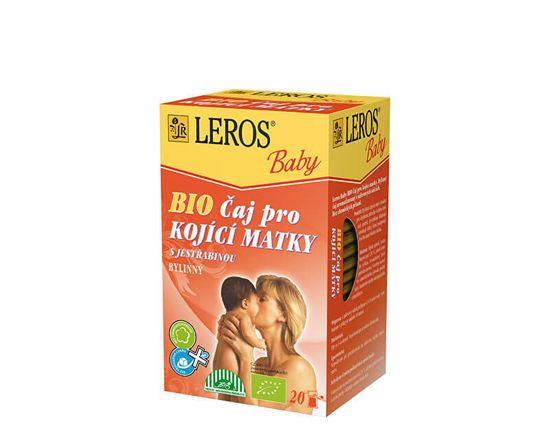 LEROS Baby BIO Čaj pre dojčiace matky 20 x 1.5 g
