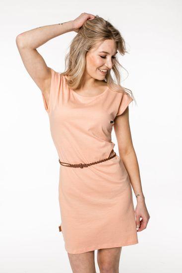 Alife and Kickin dámské šaty Elli XS růžová
