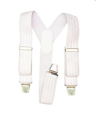 FREI Eleganckie szelki w białym kolorze