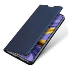 Dux Ducis Skin Pro knižkové kožené púzdro na Samsung Galaxy A51, modré
