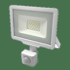 Optonica LED reflektor SMD CITY PIR IP65 bílý 30W 4500K