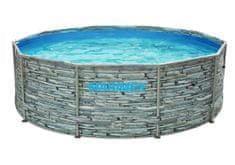 Marimex Bazén Florida 3,05 × 0,91 m, bez filtrace, motiv kámen (10340245)