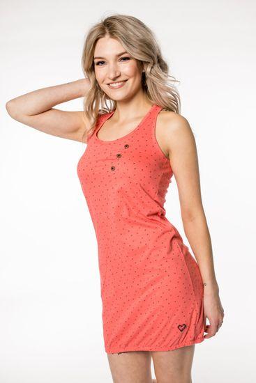 Alife and Kickin dámske šaty Cameron S ružová
