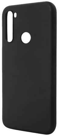 EPICO Silk Matt Case ovitek za Realme 5 Pro, silikonski, črn