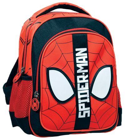 GIM Junior Spiderman hátizsák, black red