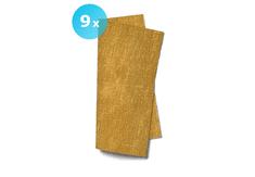 INFIBRA Papírové ubrousky INFIBRA Trend TRAMA 2vrstvy 38x38cm - 9x40ks zlatá