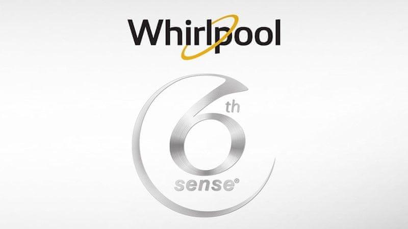 Volně stojící pračka s předním plněním Whirlpool FWD81284WC EE Inteligentní technologie 6. smysl