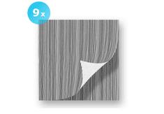 INFIBRA Papírové ubrousky INFIBRA Trend antracit 2vrstvy 38x38cm - 9x40ks