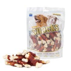 Magnum Duck Bone Wrap multipack priboljški za pse, 3x 250 g