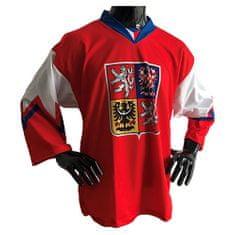jersey53 Hokejový dres , unisex | DRESCZ06 | BIELA-ČERVENÁ | L