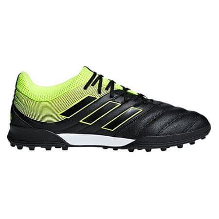Adidas Nogometni čevlji COPA 19.3. TF BLACK / RUMEN, Moški BB8094   ČRNO-RUMENA 44 2/3
