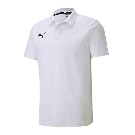 Puma Koszulka Polo Teamgoal 23, MĘŻCZYŹNI 656579-04 | BIAŁY XXXL