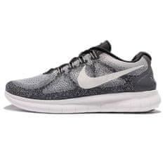 Nike BREZPLAČNO RN 2017, 20 | RUNNING | MOŠKI | NIZKA VRH | WOLF GREY / OFF WHITE-PURE PLATI | 7.5