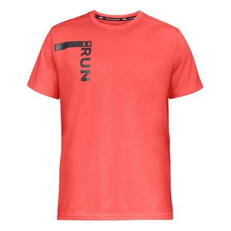 Under Armour Koszulka Run Tall Graphic Ss, Mężczyźni Koszulki męskie Koszulki męskie L.