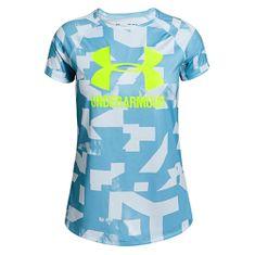 Under Armour Big Logo Tee újszerűség SS-BLU, Lányok | Ruházat | Vonat | Felsők | Rövid ujjú USA: YLG | EU: L