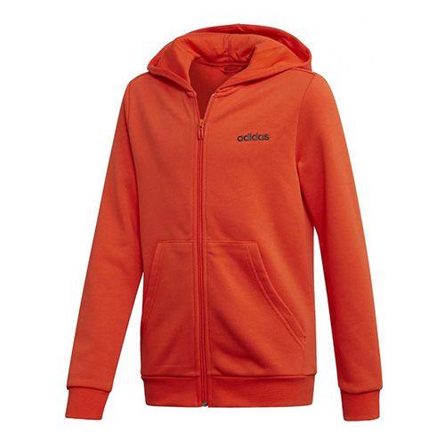 Adidas Dětská mikina , Essentials linear fullzip | Oranžová | 152