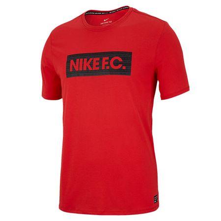 Nike BLOK SEZONOWY M NK FC DRY TEE, 10 | PIŁKA NOŻNA / PIŁKA NOŻNA | MĘŻCZYZNA | T-SHIRT Z KRÓTKIM RĘKAWEM | LT CRIMSON | Z