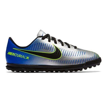 Nike JR MERCURIALX VRTX III NJR TF, 20. | FABOTBALL / FOCCER | GRD ISKOLA UNSX | LOW TOP | RACER BLUE / BLACK-CHROME-VOLT | 4.5Y