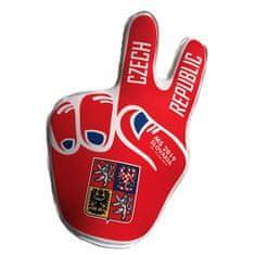 jersey53 Fandiace ruka Česko, UNISEX | RUKACZ01 | ČERVENÁ | UNIVERZÁLNY