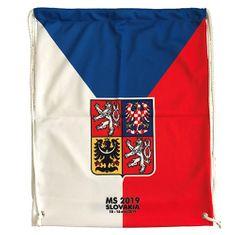 jersey53 Vak , Česko - styl vlajka | Červená | Objem 20 l